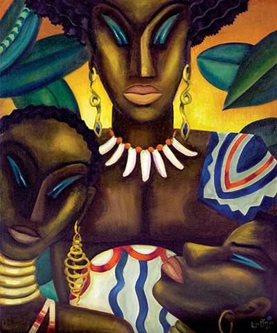 Africa, 1935.Loïs Mailou Jones