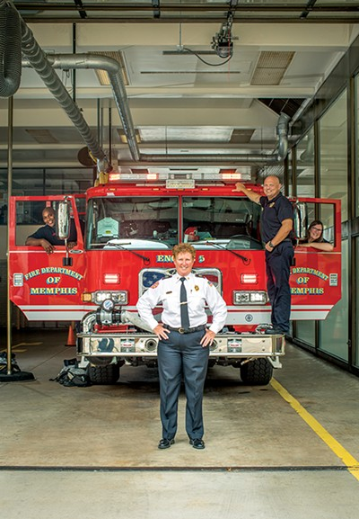 Memphis Fire Services Division Director Gina Sweat - PHOTOGRAPHS BY JUSTIN FOX BURKS