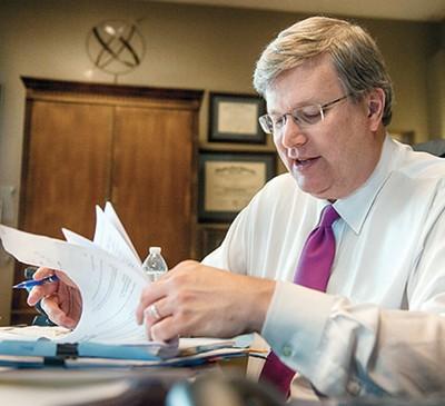 Incumbent Mayor Jim Strickland - BRANDON DILL
