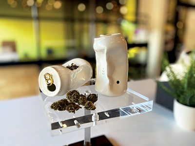 A luxe can pipe at Ounce of Hope - TOBY SELLS