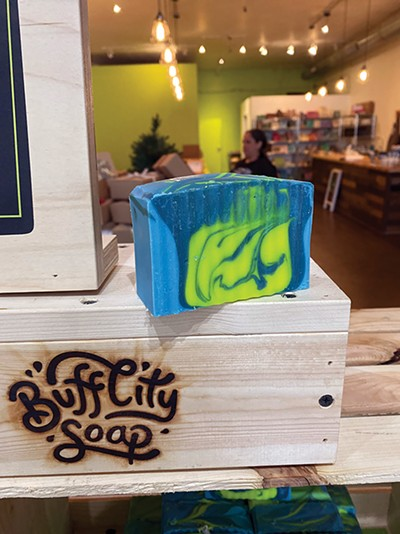 Buff City Soap - TOBY SELLS