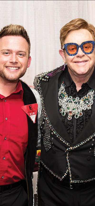 Jerred Price (left) and Elton - BEN GIBSON