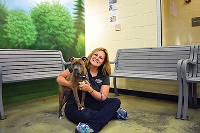 Alexis Pugh, executive director of Memphis Animal Servies. - MEMPHIS ANIMAL SERVICES