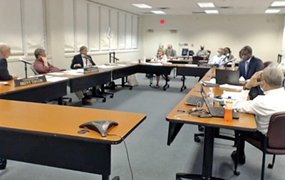 Election Commission in session - JACKSON BAKER