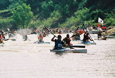 Outdoors Inc.'s annual Canoe and Kayak Race goes virtual. - JOE ROYER