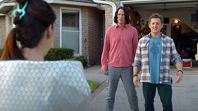 Keanu Reeves and Alex Winter are back in Bill & Ted Face the Music.