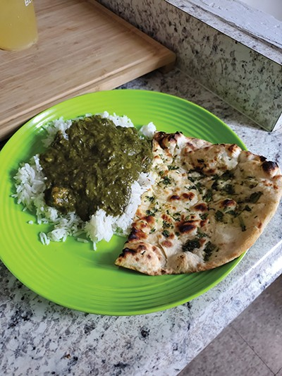 Golden India, Palak Paneer - MATTHEW J. HARRIS