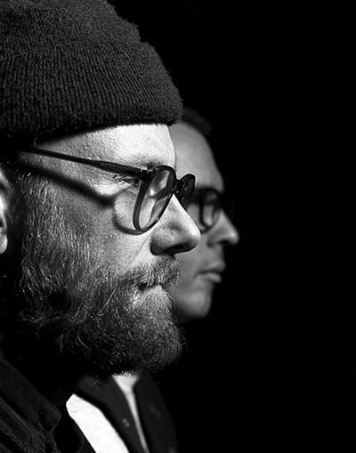 """Mike Doughty and Andrew """"Scrap"""" Livingston - REMY HOLWICK"""