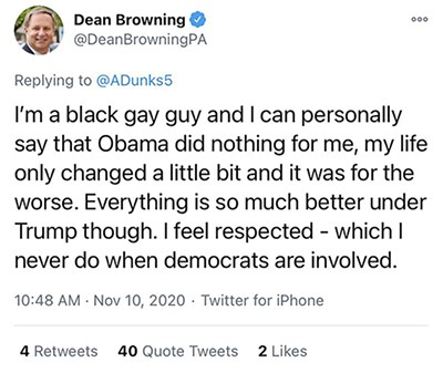 It was Dean Browning all along!
