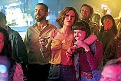 Kristen Wiig and Bel Powley