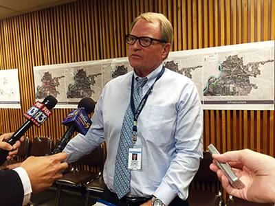 Jack Sammons during last week's MHA meeting - TOBY SELLS