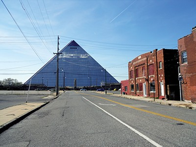 Lipscomb's projects include the Pyramid, - JOHN BRANSTON