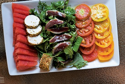 watermelon salad - JOHN KLYCE MINERVINI