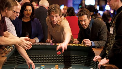 Ben Mendelsohn and Ryan Reynolds in Mississippi Grind