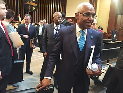 Mayor A C Wharton - TOBY SELLS