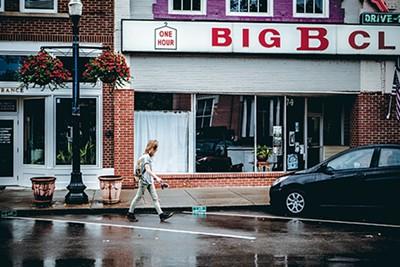 Downtown Murfreesboro, near Baker's favorite record shop - ANDREA MORALES