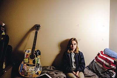 Baker in her room in Murfreesboro, where she studies literature - ANDREA MORALES