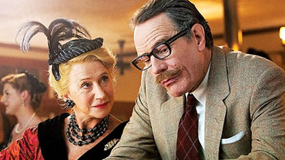 Helen Mirren and Brian Cranston in Trumbo