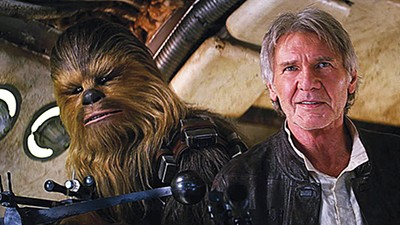 Harrison Ford returns as Han Solo