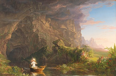 """""""The Voyage of Life,"""" Childhood"""