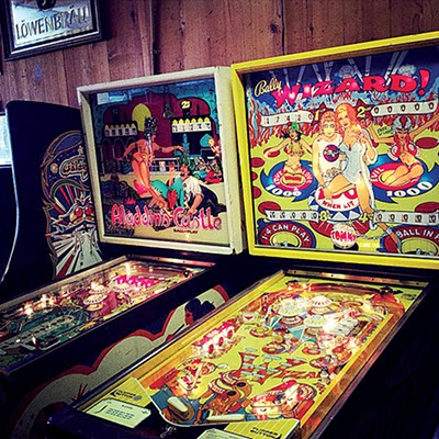 Pinball wizards welcome.