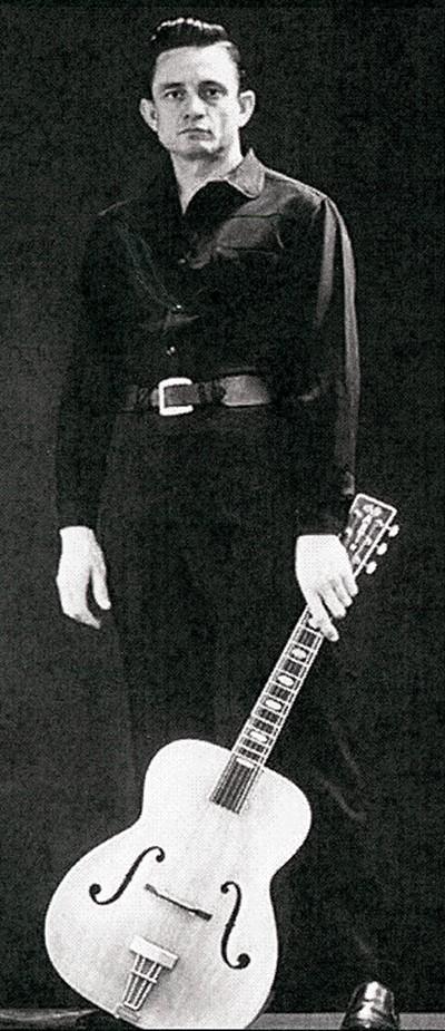 Johnny Cash - LEIGH WIENER
