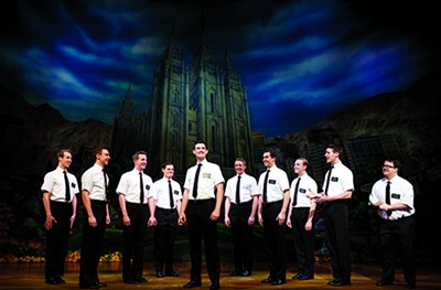 The Book of Mormon Company - JOAN MARCUS