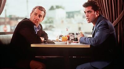 Robert De Niro and Ray Liota in Goodfellas