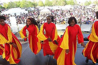 Celebrate culture at Africa in April.