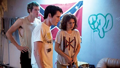 Callum Turner,Anton Yelchin and Alia Shawkat in Green Room