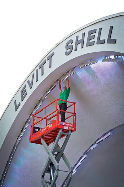 The Shell has seen a lot of changes through the years, but it's better than ever this - summer.