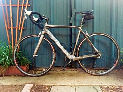 My Ride: Jason Potter, Bike: road bike, Used for: fitness