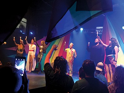 The drag crew at Spectrum pays tribute to Pulse shooting victims.