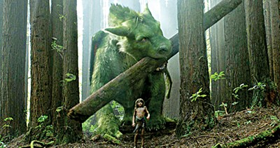 Disney's comforting remake is a tale of a boy and his giant, shaggy, green dragon.