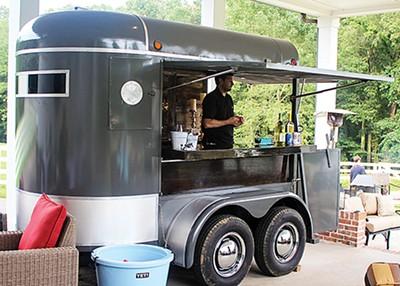 The Barnwall Event Co. bar trailer