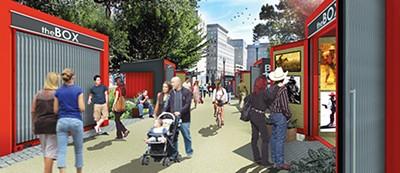 Rendering of Kirkscey's Art Park