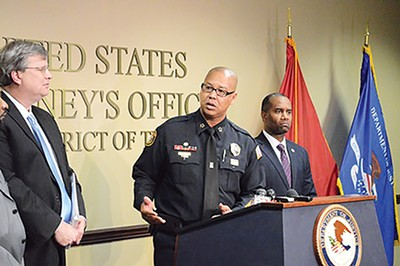 MPD Director Michael Rallings speaks last week.