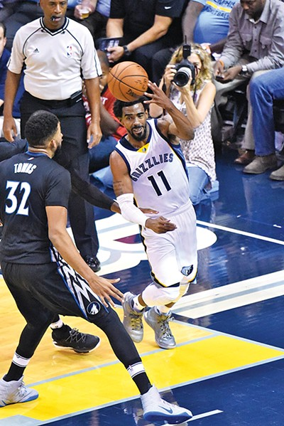 Veteran point guard Mike Conley