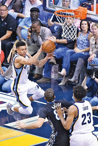 Rookie guard Wade Baldwin IV