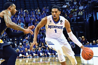 Sophomore forward Dedric Lawson
