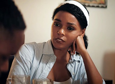 Musician Janelle Monáe is unrecognizable as Theresa, a woman who treats the unfortunate Chiron with compassion in Moonlight.