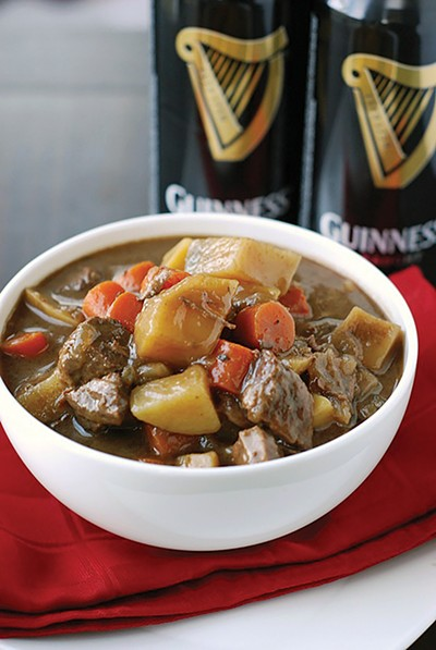 Perfect pairing — stout and beef stew