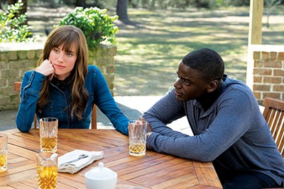 Allison Williams and Daniel Kaluuya star in Jordan Peele's new horror film, Get Out.