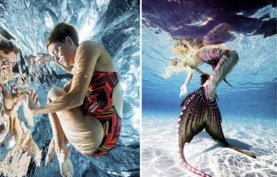 "Photography from his ""Underwater Ballet"" series. - ZIGGY MACK"