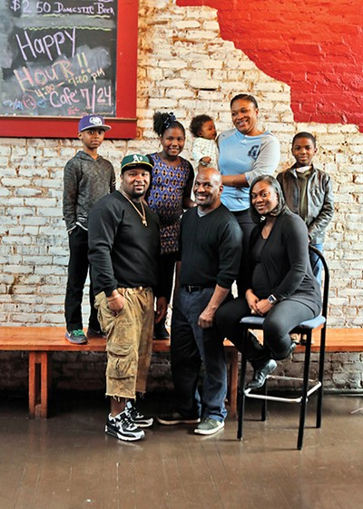 Charisse Gooden and family debuted Cafe 7/24 in the old Prohibition Lounge space.