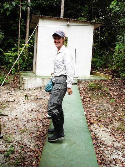 Dr. Sarah Boyle in the Amazon