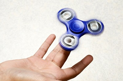 The spinner - FULLEMPTY   DREAMSTIME.COM