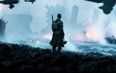 Survival is victory in Christopher Nolan's - newest feature film, the WWII-era Dunkirk.