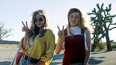 Elizabeth Olsen (left) and Aubrey Plaza star in director Matt Spicer and writer David Branson Smith's social media satire.