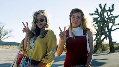 Elizabeth Olsen (left) and Aubrey Plaza star in director Matt Spicer and writer David Branson Smith's social media satire.